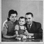 Art Spiegelmen with his parents.
