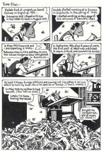 """Spiegelman reflects on the different events that occurred that came together to make """"Maus""""."""