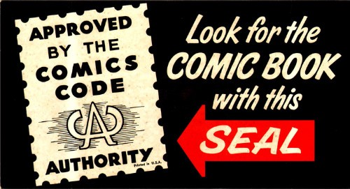 All comics appropriate for young readers would have been stamped with this seal prior to 2011.