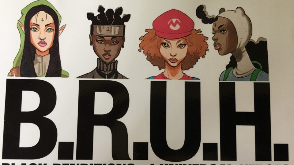 Pictured here is the cover of the book BRUH by Markus Prime