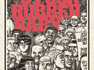 The cover of the graphic novel Stuck Rubber Baby